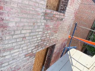 Newly Pointed Bricks