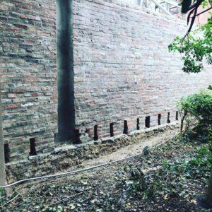 Beautifully pointed Bricks