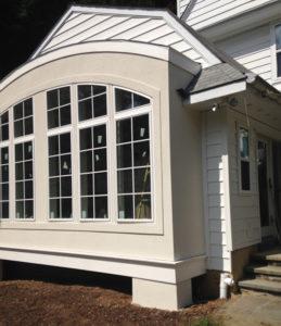 New Stucco Window