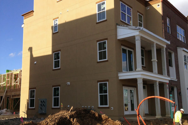 New Construction High Quality Stucco